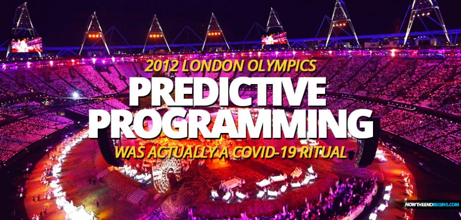 OPENING CEREMONY OF THE 2012 LONDON OLYMPICS USED PREDICTIVE PROGRAMMING TO SHOW US THE COMING COVID-19 PLANNEDEMIC