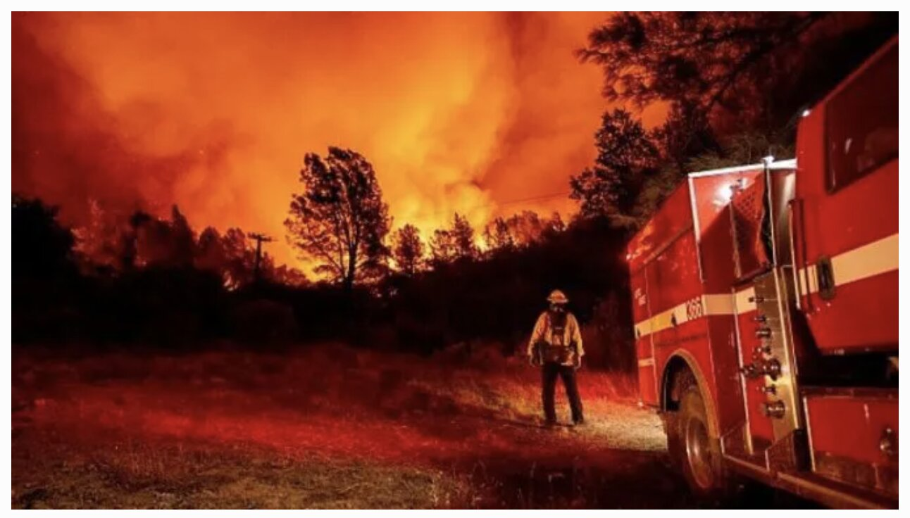 Half A Million Forced To Flee As Wildfires Rage across Oregon