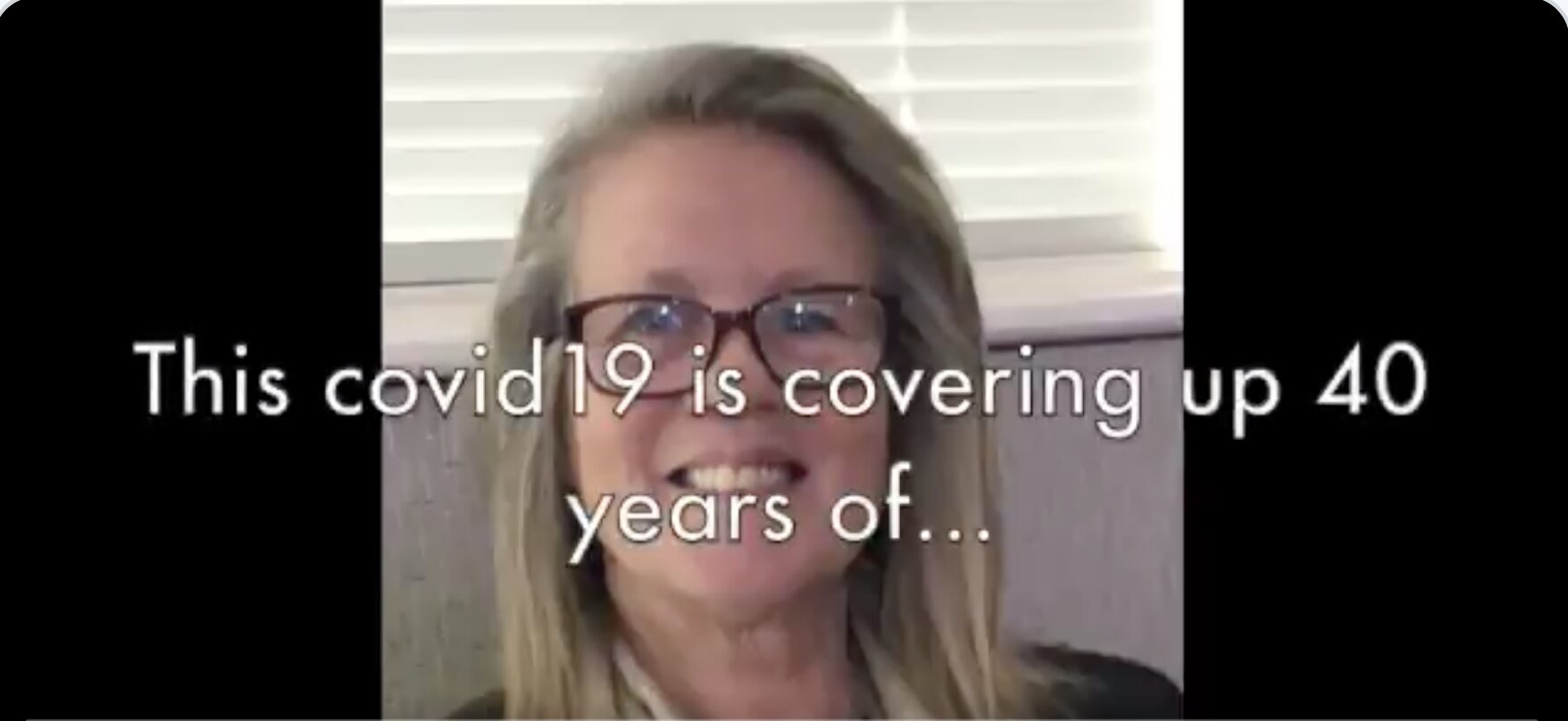 "Dr Judy Mikovits: This ""COVID19"" is covering 40 years of ""we put all these viruses in the vaccines"" & drove these pandemics through populations"