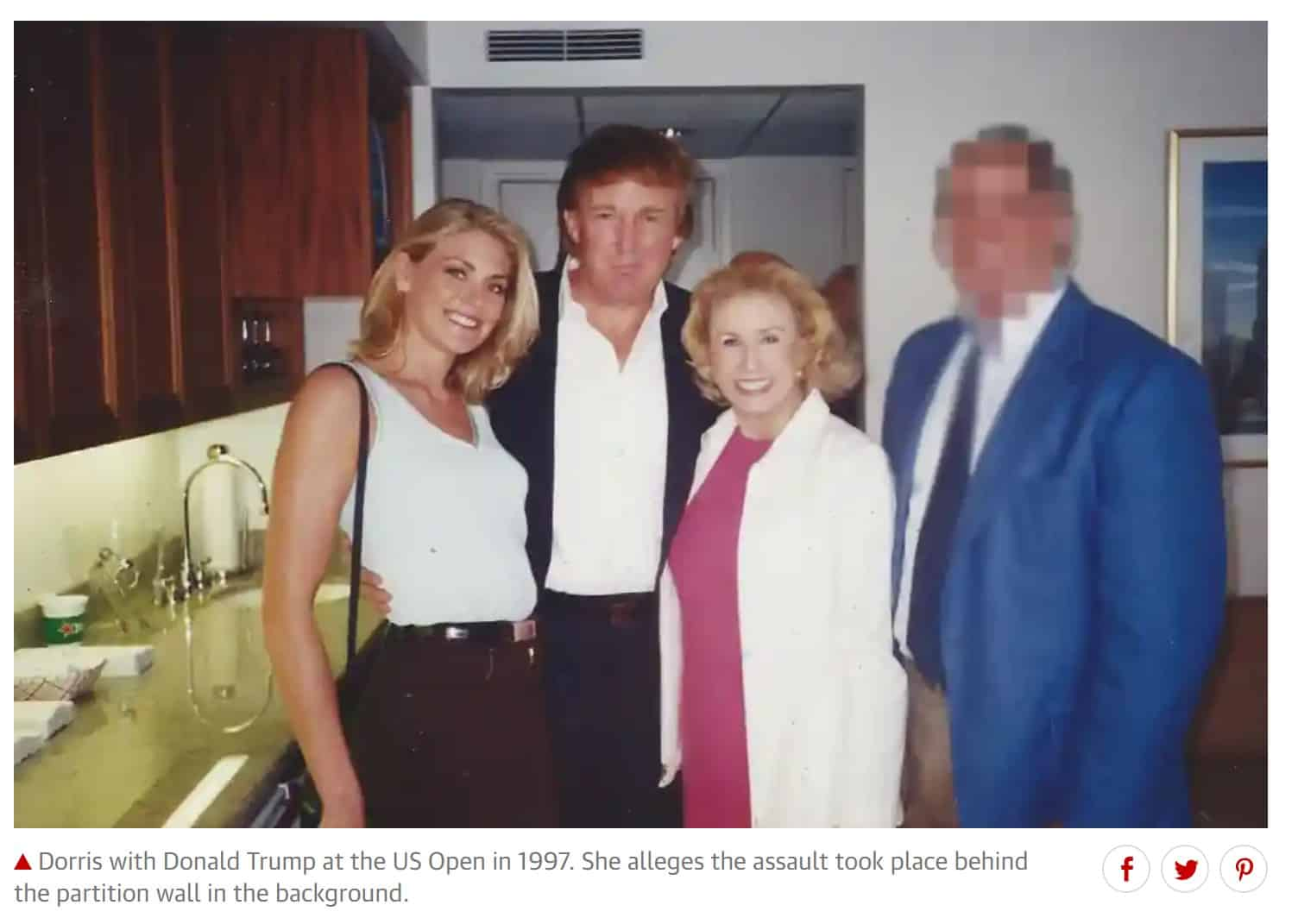 Breaking: Donald Trump accused of sexual assault by former model Amy Dorris