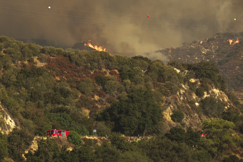 Arcadia residents told to evacuate as Bobcat fire moves closer to homes