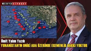 Former Turkish DM says Greece must evacuate its citizens & army from 9 Aegean islands