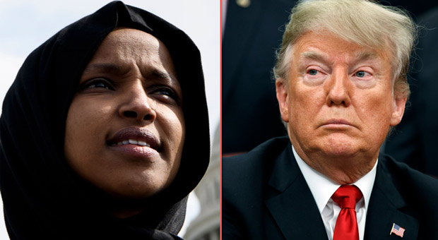 Trump Calls On Justice Department to Investigate Ilhan Omar Over Illegal Ballot Scam