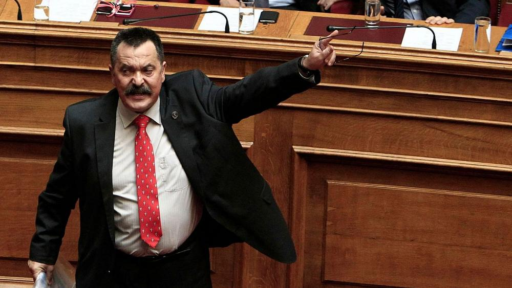 """Greece: """"Convicted""""/PERSECUTED former Golden Dawn lawmaker on the run"""