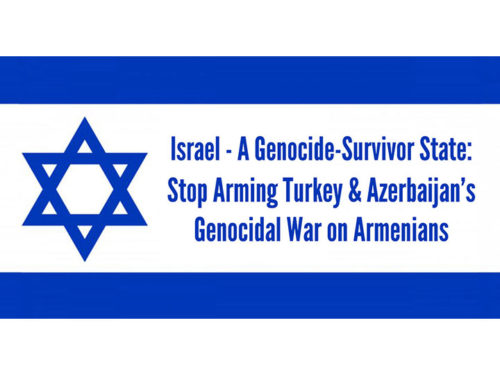 ANCA to Israeli Ambassador: Stop Sale of Lethal Weapons to Azerbaijan