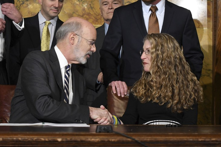 BUSTED on Hot Mic: PA Gov. Wolf and Elected Crony Laughing About Masks as 'Political Theater'