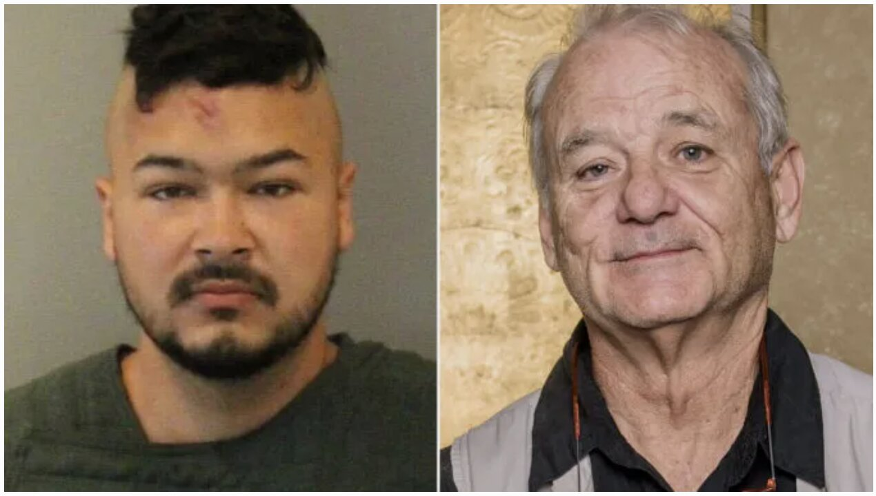 Bill Murray's Son Arrested At BLM Protest For 'Spitting On and Biting Police Officers'
