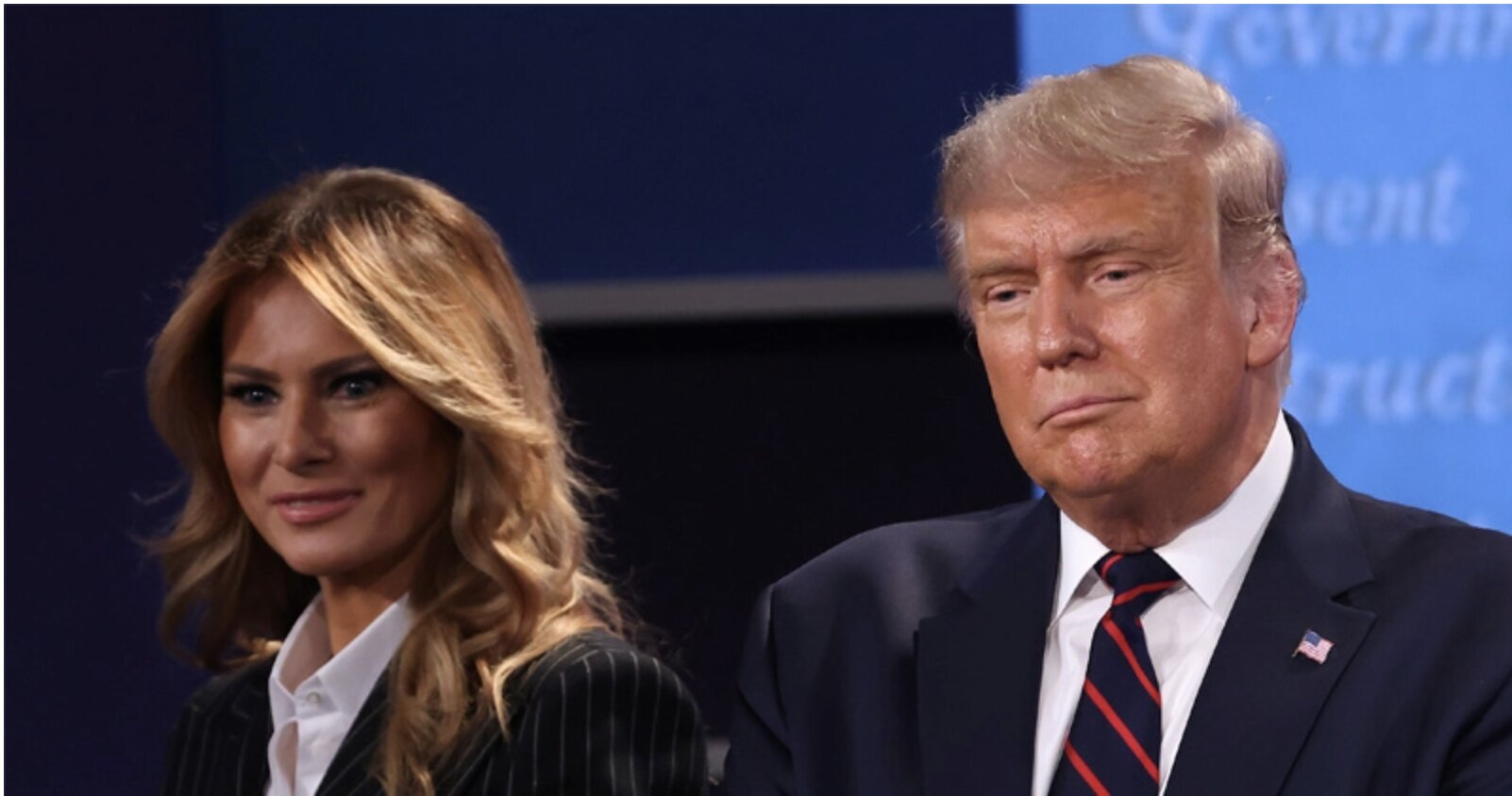 "THE REAL TRUMP COMES OUT – TRUMP, FIRST LADY TEST""POSITIVE"" FOR FAKE COVID-19"