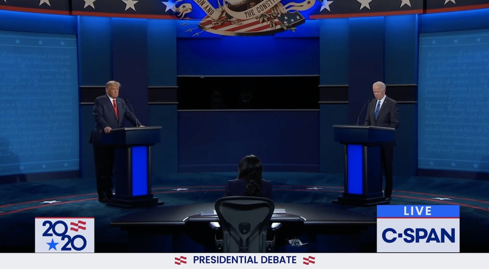 Second 2020 Presidential Debate between Donald Trump and Joe Biden – Full Clip. Trump has 100 million COVID vaccines ready with the Army!.