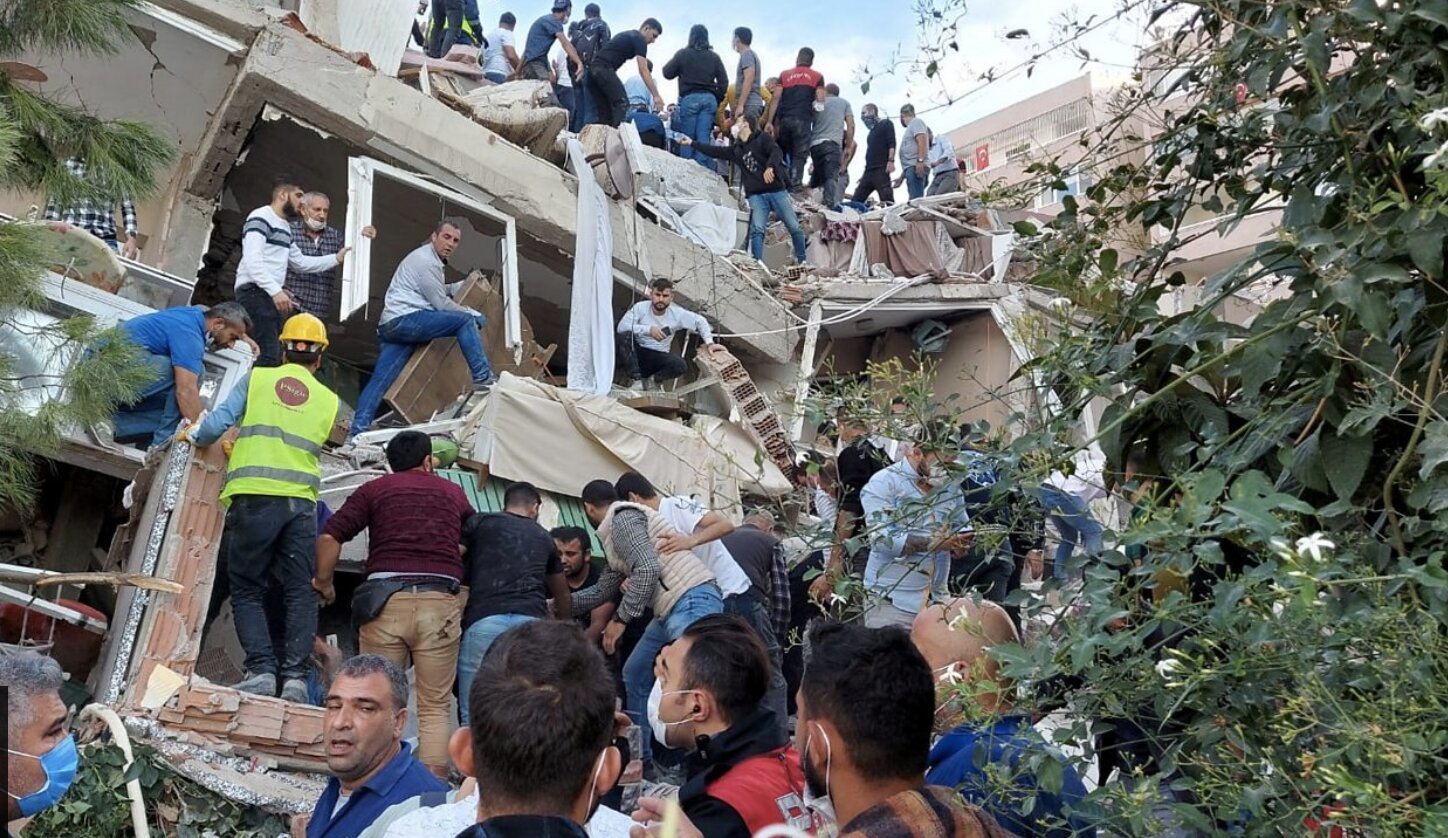 Turkey-Greece quake: Search for survivors under rubble
