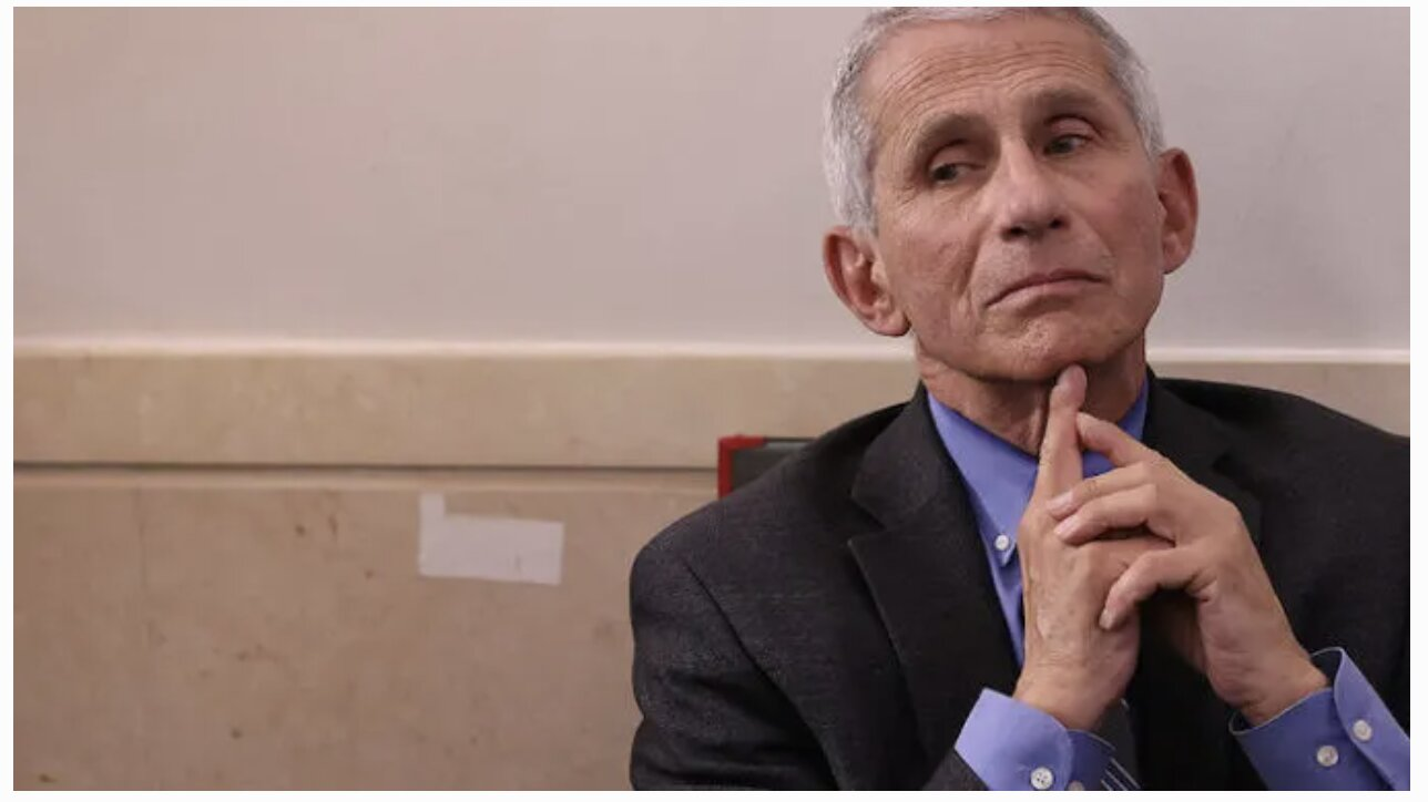 Hillary's No. 1 Fan, Dr Fauci, Says Masks Will Still Be Necessary After COVID Vaccine