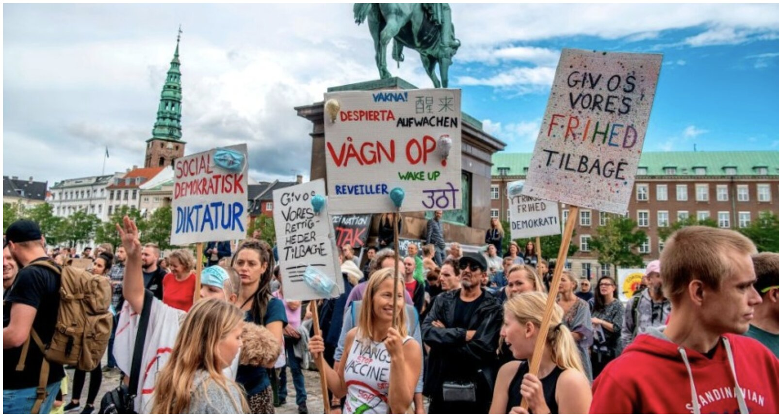 Forced Vaccination Law in Denmark Abandoned After Public Protests
