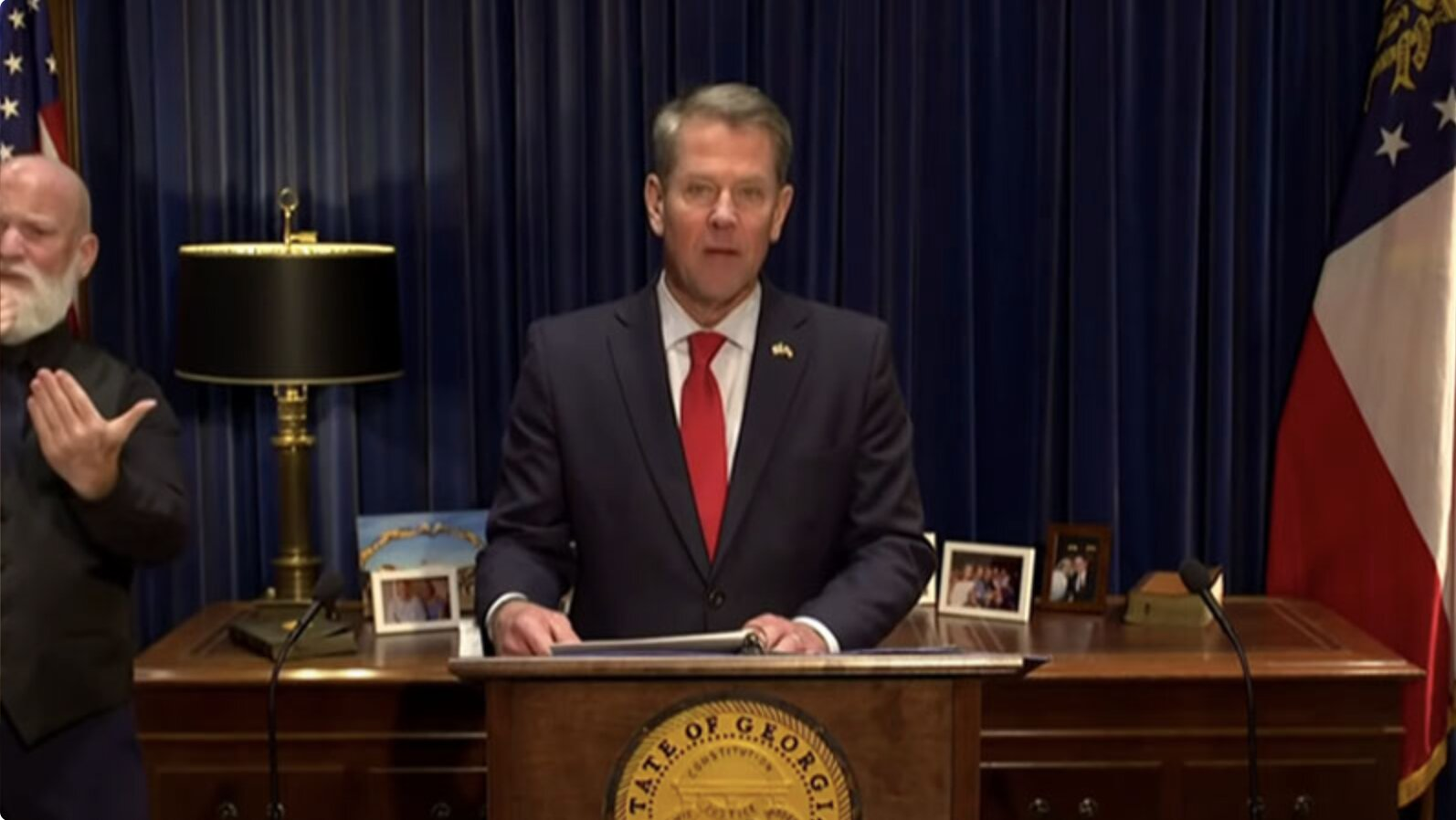 Georgia Governor Kemp Calls for Audit of Signatures on Ballot Envelopes