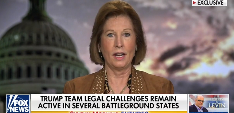 'DESIGNED TO RIG ELECTIONS': Sidney Powell tells Bartiromo that Trump Team's evidence will 'OVERTURN' multiple states