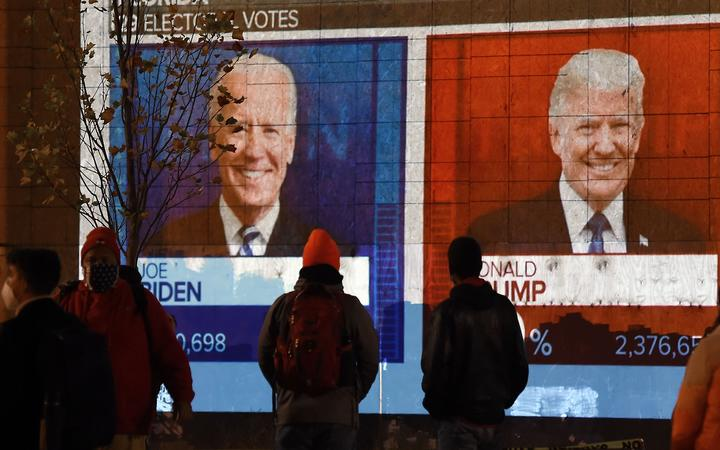 US election results: Trump and Biden each claim victory as lawsuits brew