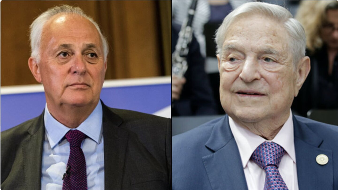 George Soros Taps Former Chairman of vote-stealing Smartmatic to Become President of Open Society Foundation