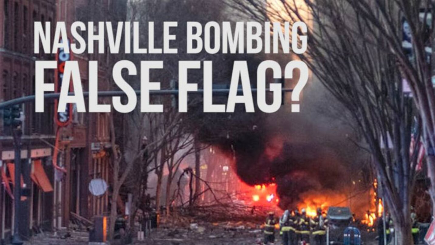 Is Nashville Bombing A False Flag To Blame On Trump Supporters?