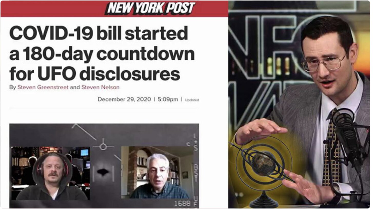 REVEALED: UFO Disclosure Schedule Hidden In Covid Bill