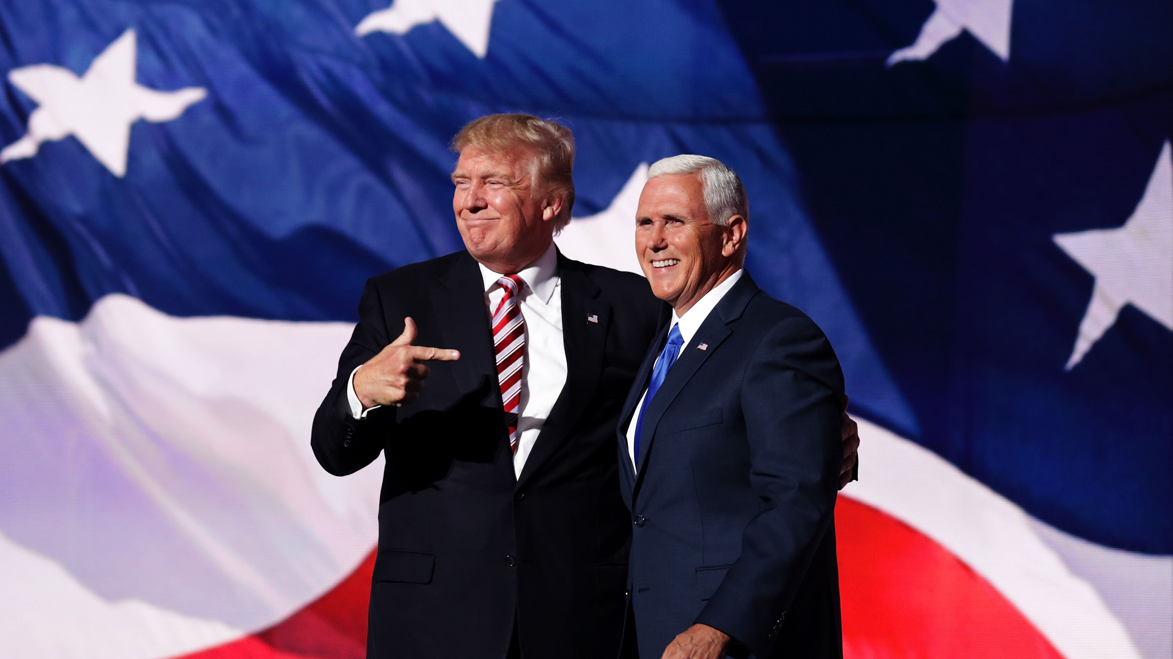 The Trump card in the elections: MIKE PENCE.