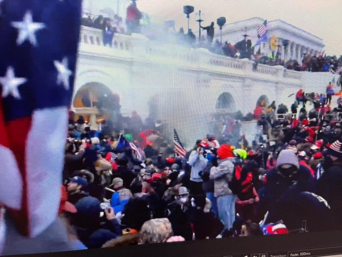 Capitol Siege: Four Veterans Give Their Firsthand Account on Thursday's Protest at US Capitol
