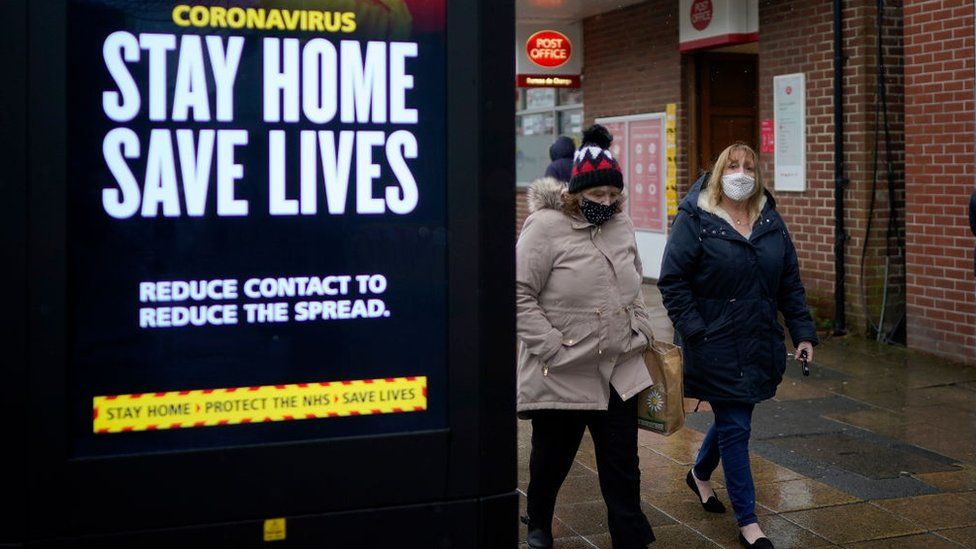SICK AND TWISTED: Covid-19: 'Act like you've got' the virus, British government urges