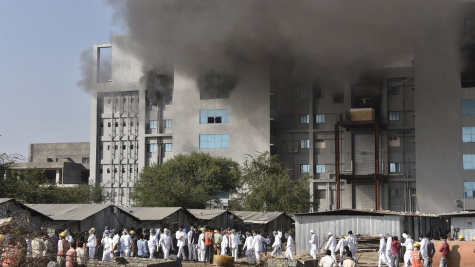 Serum Institute: Fire at world's largest vaccine producer kills five