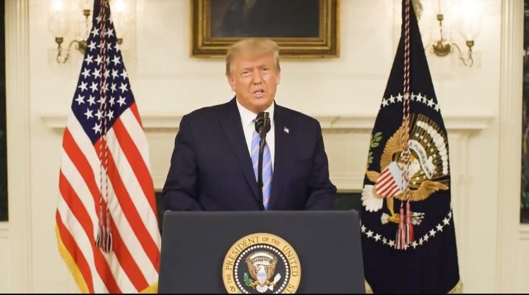 BREAKING: President Trump Releases Video Message From White House – SELLS OUT ALL OF HIS VOTERS AND ALL OF AMERICA!!!