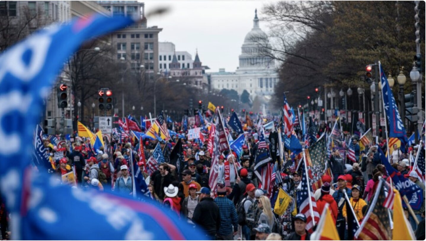 Watch Live: Patriots Descend On DC – The Battle For The Soul Of America Has Begun