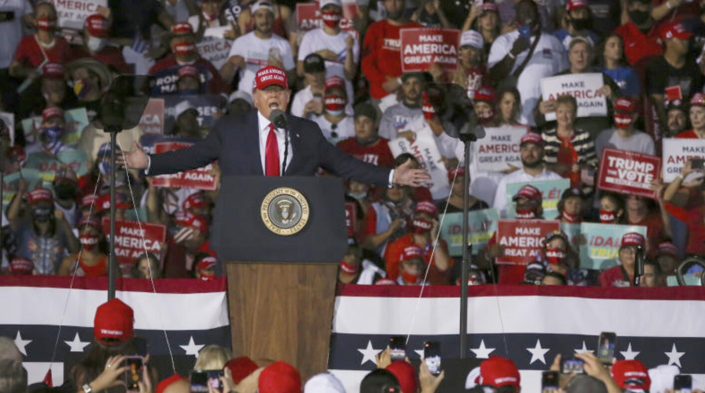 Watch Live! President Trump Lays Out Election Fraud in Epic Speech to Patriots
