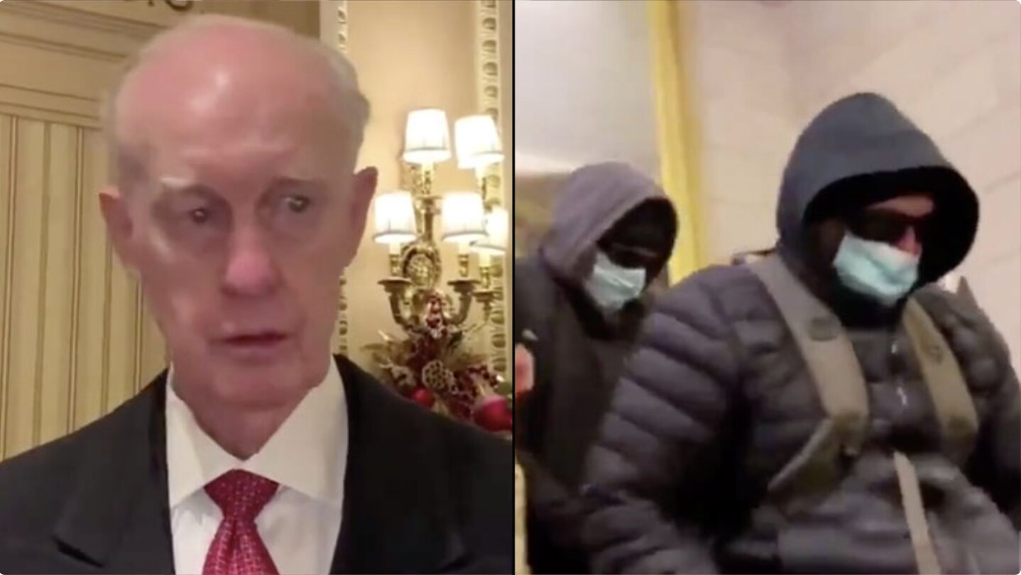 Top Military Official: Special Forces Took Nancy Pelosi's Laptop During Capitol Riot