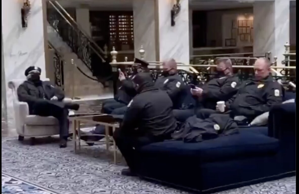 President Trump Gives Permission for US Troops to Stay at Trump Hotel in Washington DC (VIDEO)