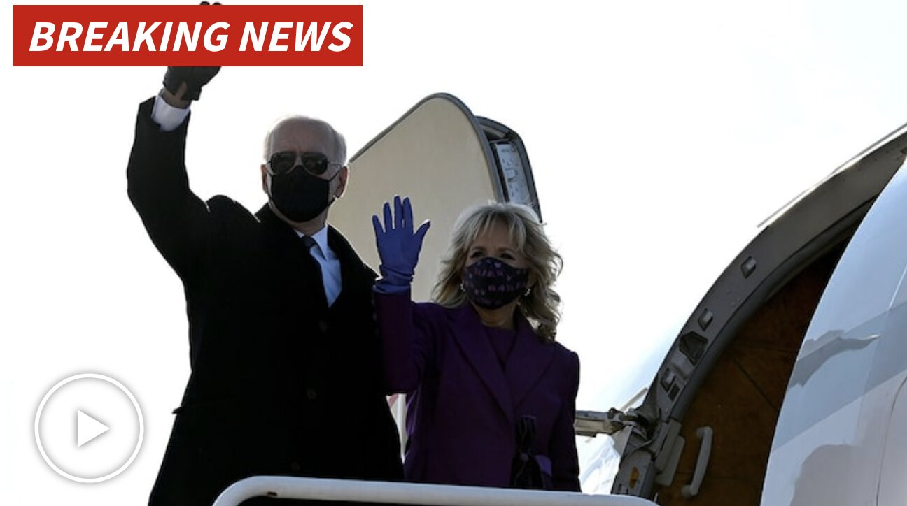 JOE BIDEN DENIED GOVERNMENT AIRCRAFT … Flew Private To D.C. Inauguration