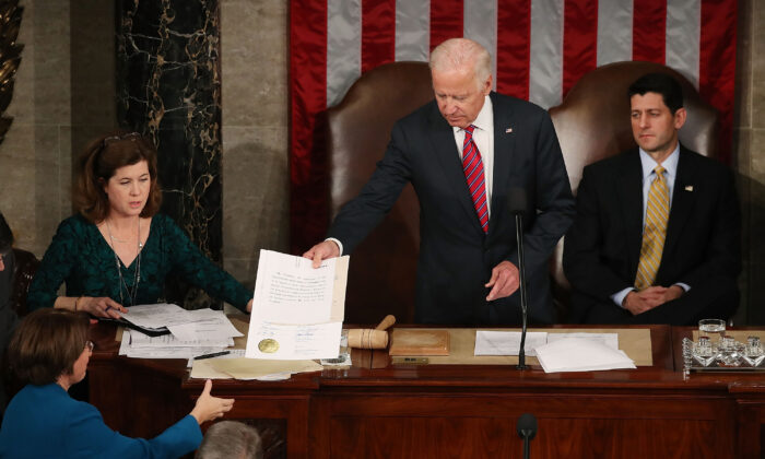 Congress Approves Rules Regulating Jan. 6 Electoral Vote Count