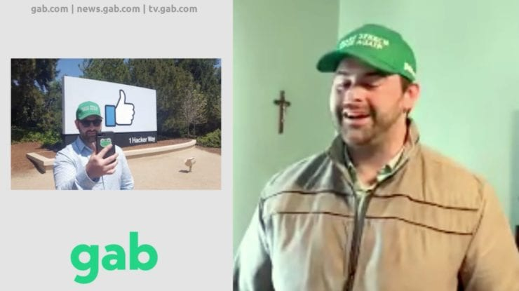 "GAB CEO: ""I had very close relationships with Facebook and Twitter…""I got to see the evils of their business model for many years""…""What we're seeing in America right now is the rise of Communism"" [VIDEO]"