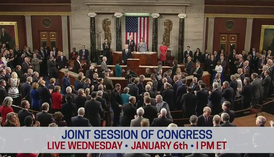 Live Updates: Congress meets to certify Electoral College vote. House and Senate debate Arizona electoral vote objection!