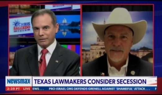 Texas Lawmakers Consider Secession Over Life Under Democrat Marxism — Several States Interested in Movement (Video)