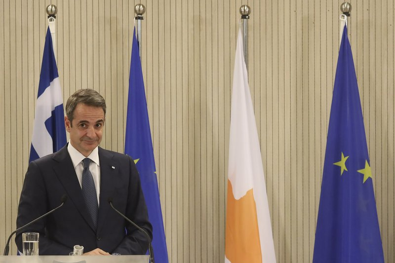 Greece says Turkey's 2-state model for Cyprus a non-starter