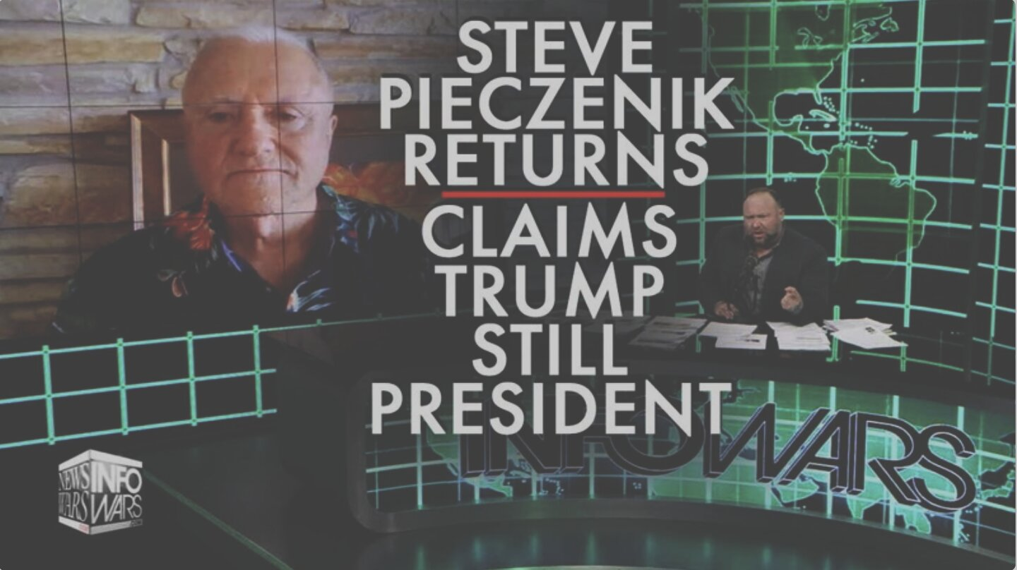 Dr. Steve Pieczenik Returns! Claims Trump Is Still President!