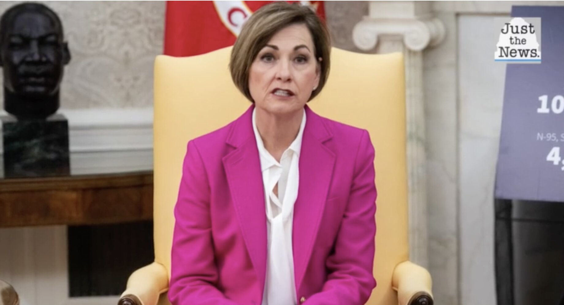 Iowa Gov. Kim Reynolds removes COVID-19 social distancing, mask rules