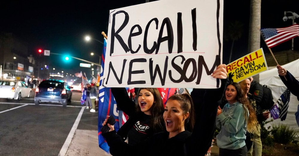 Recall Gavin Newsom' leader on signature campaign hitting threshold: 'We're not stopping'