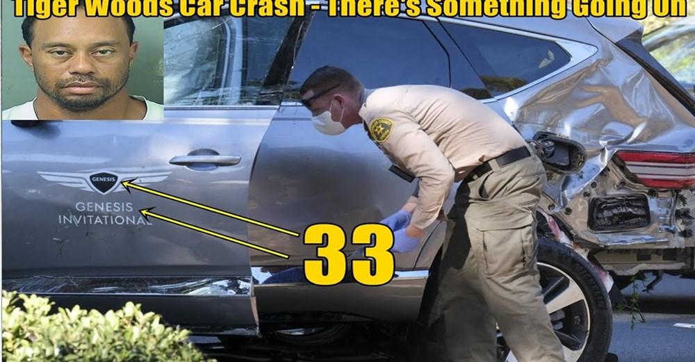 """Tiger Woods """"Car Crash"""" – There's Something Going On – What' THEY'RE not telling us!"""