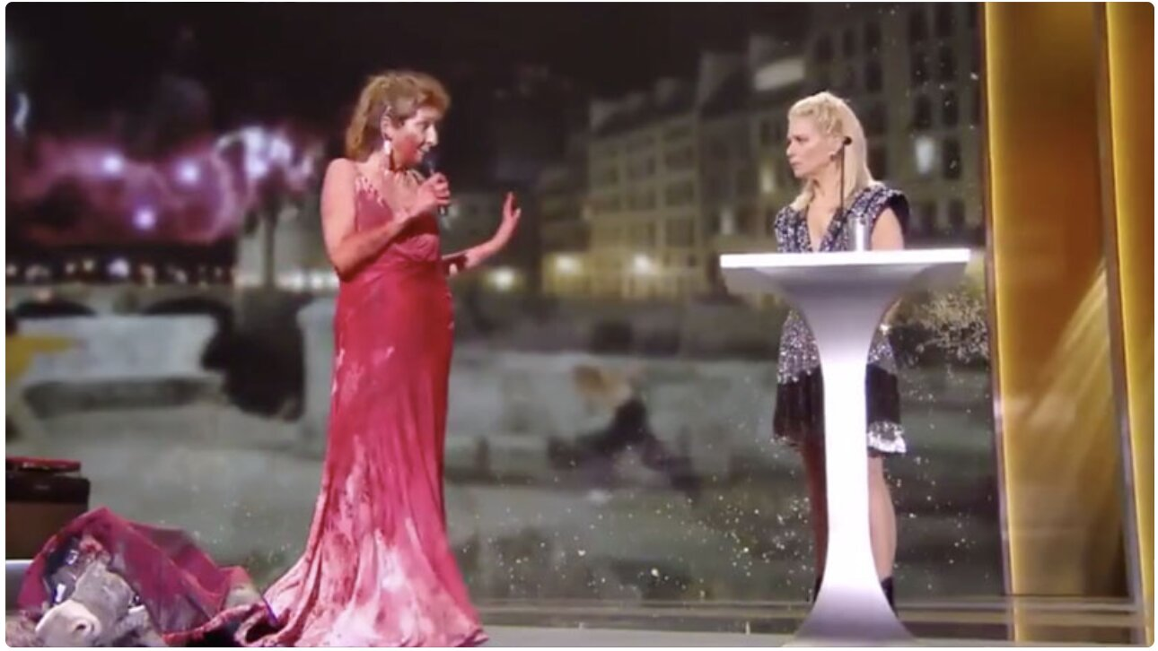 No Culture, No Future': French Actress Strips Naked at Awards Ceremony to Protest COVID-19 Lockdowns