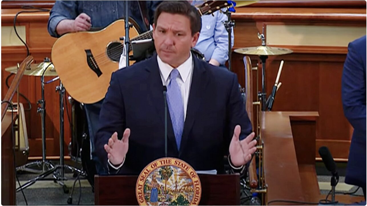 "Florida Gov. DeSantis: Citizens Will Never Have To Show Vaccine Passports ""To Participate In Normal Society"""