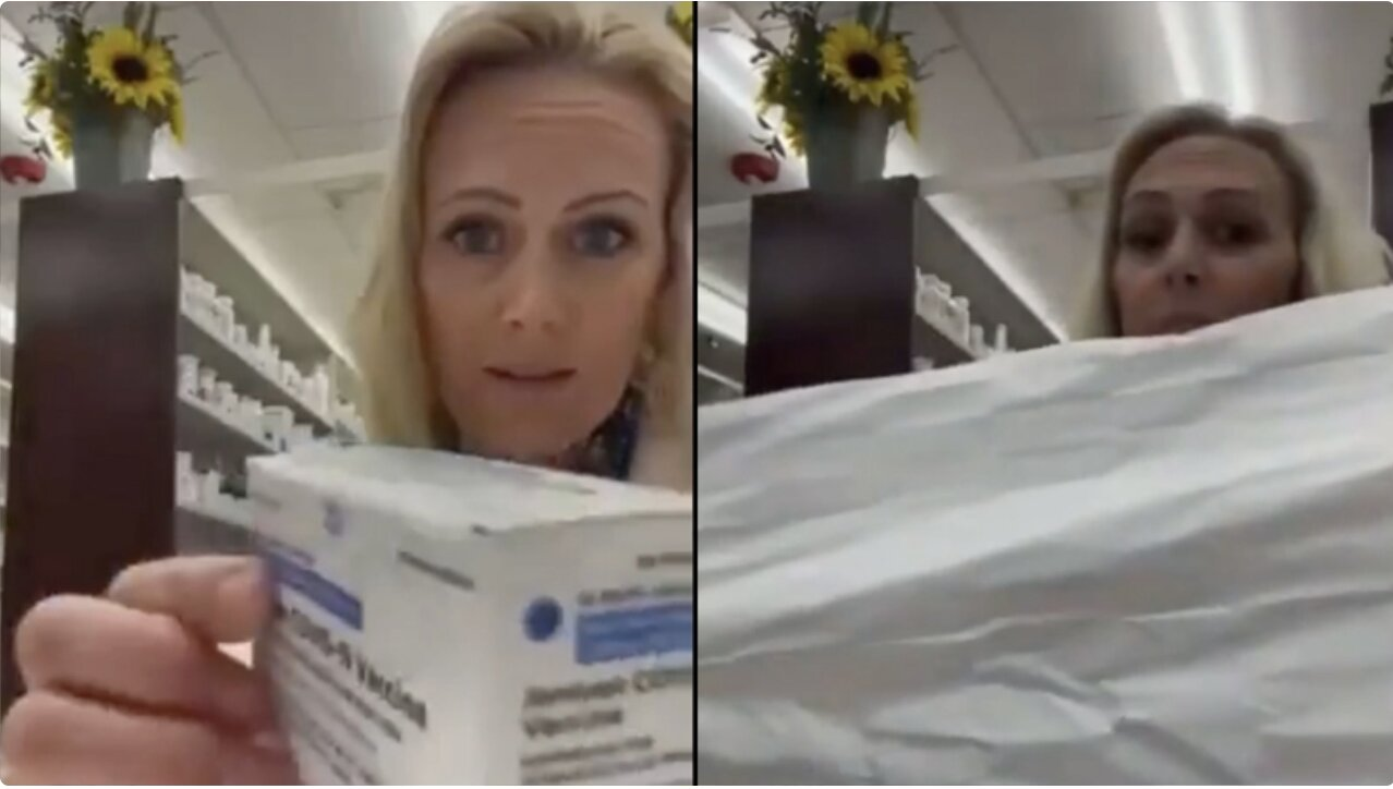 Bizarre: Pharmacist Inspects J&J Covid Vaccine Insert — Finds Out It's Completely Blank!
