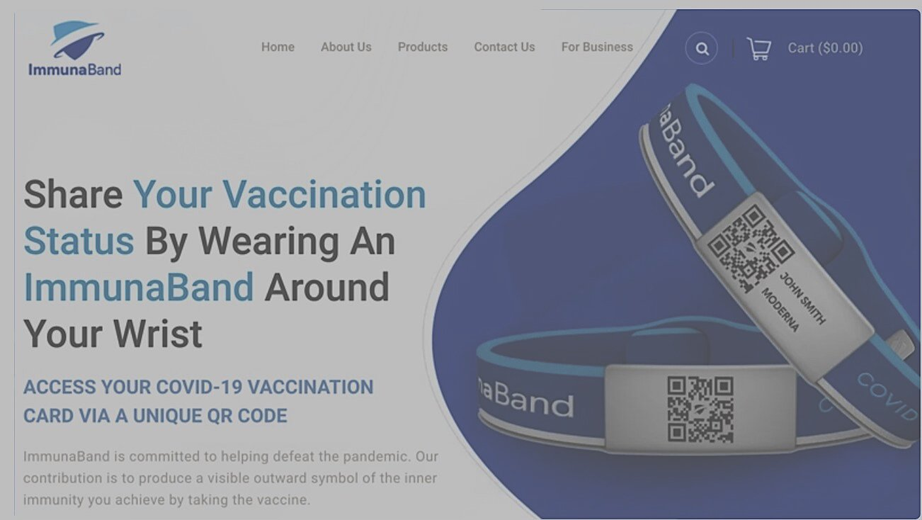 COVID scam tyranny – California Rolls Out Scannable Vaccine Card Wristbands
