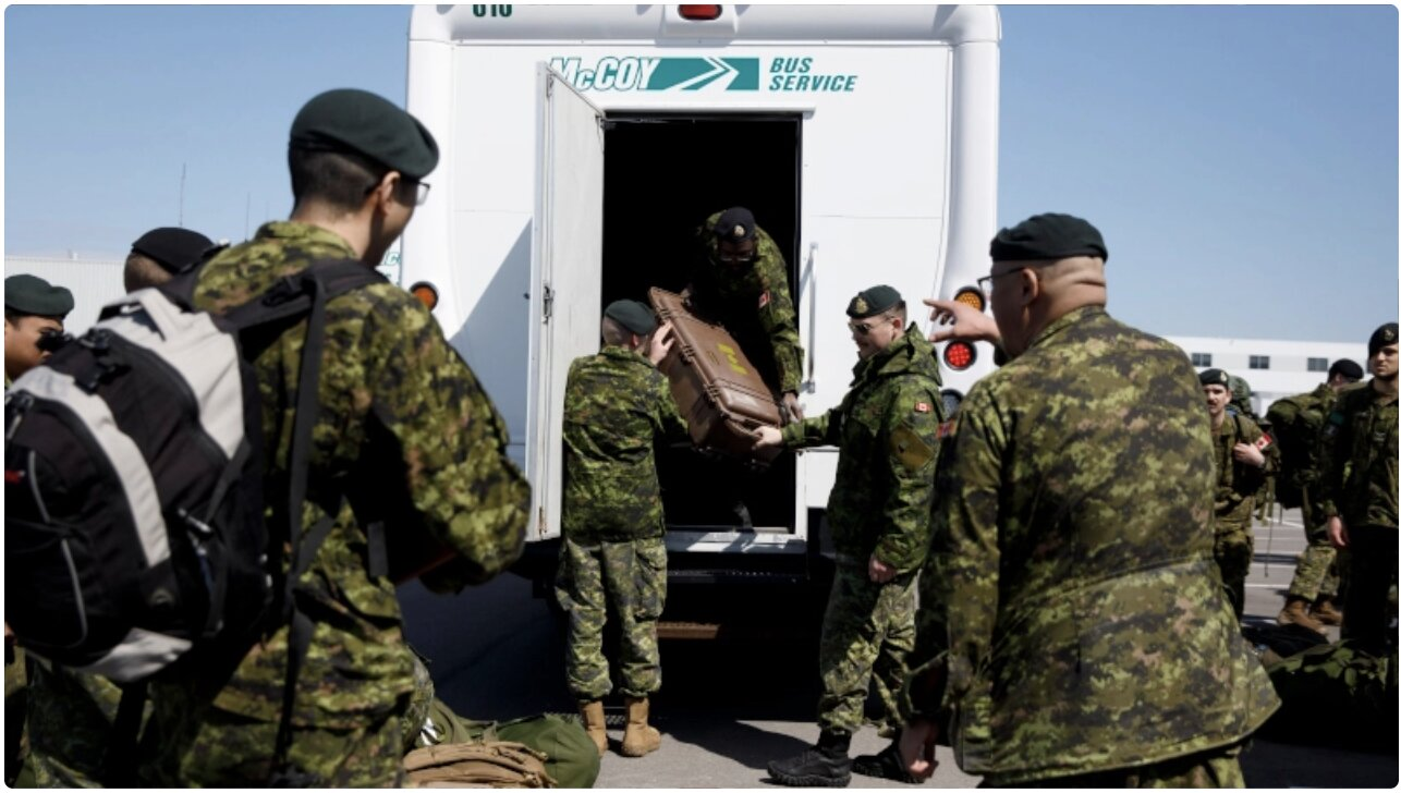 HERO Canadian Soldier Charged With 'Mutiny' After Calling on Troops Not to Distribute 'Killer' COVID Vaccine