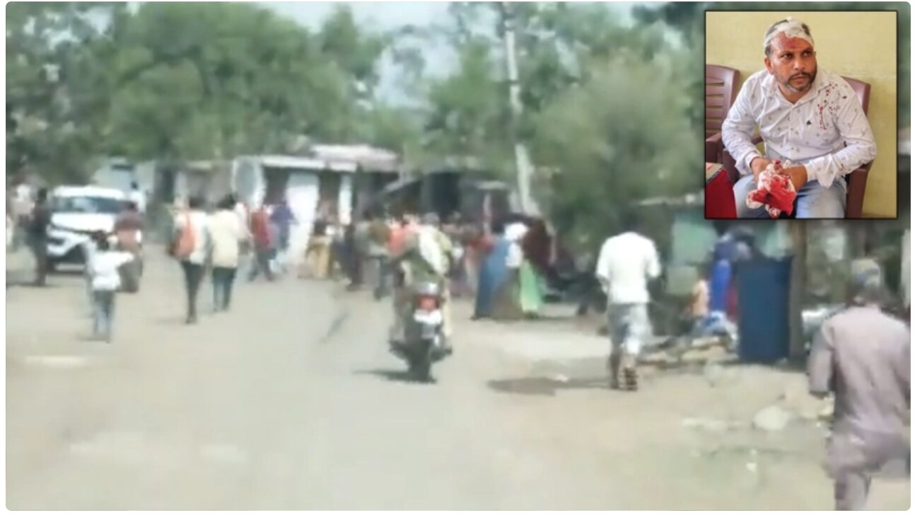 Watch: Mob of Indian Villagers Chase Covid Vaccine Team Out of Village