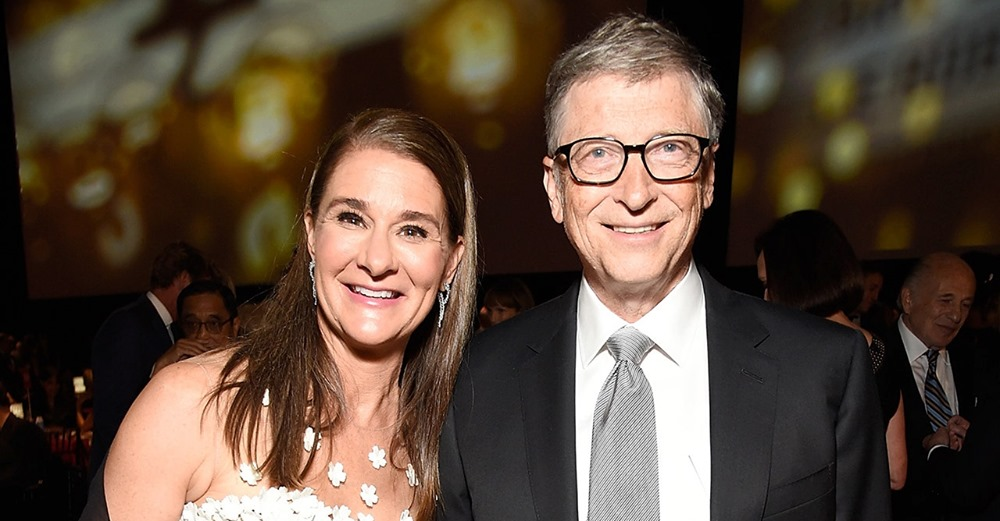 CRIMINALS (due to FAKE pandemic) Bill and Melinda Gates announce end of 27-year marriage