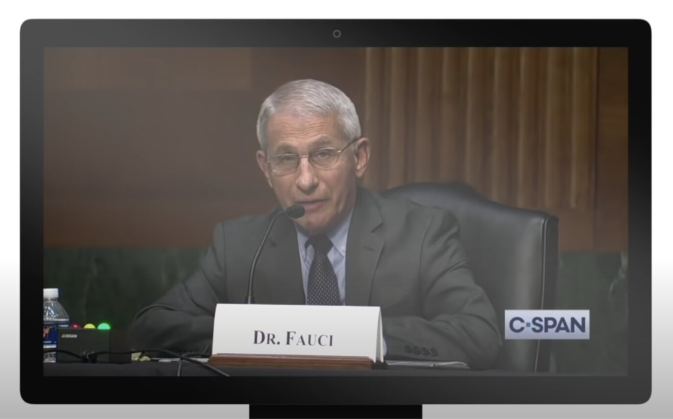 Fauci sent $60 million in taxpayer dollars to Dr Baric, DARPA, to use Dr Shi ('bat lady')'s bat coronaviruses from Wuhan Lab for forbidden gain of function research. He lied to Congress, repeatedly — a Federal crime.