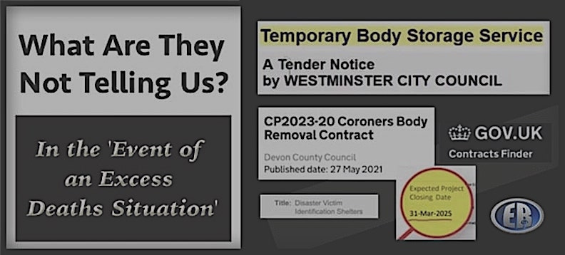 Why Are Govt 'Body Removal' Contracts Up to 2025 Being Bid On?